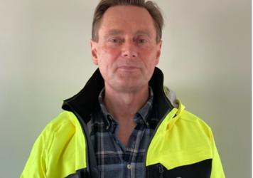 Allan Løfwall Johansen, afdelingschef Entreprenør Søren Kristiansen