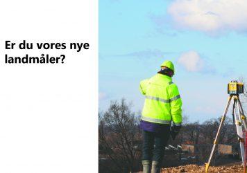Landmåler søges til anlægsopgaver i Holbæk, Entreprenør Søren Kristiansen i rivende udvikling.